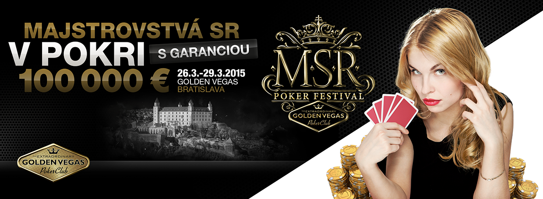 Majstrovstvá Slovenska ponúkajú garanciu €100.000 za buyin €275 105