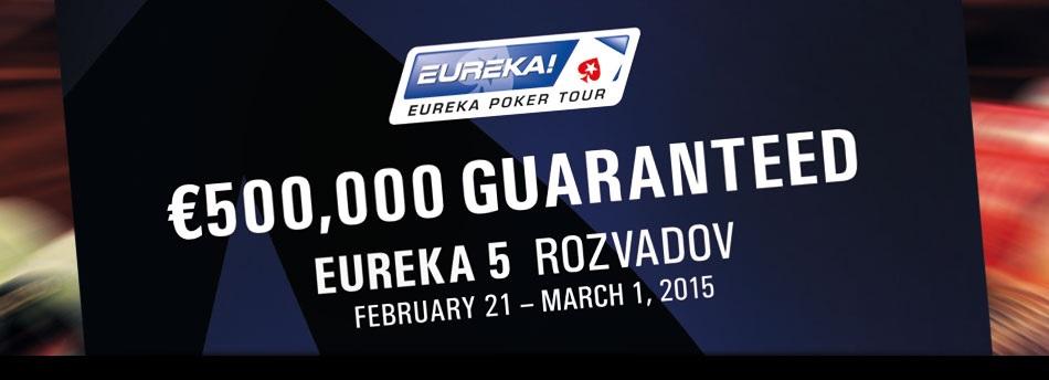 Pátá sezona Eureky má výkop ve 14 hod. v sobotu 21. února v King´s Rozvadov 101