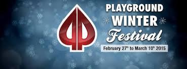 Playground Winter Festival garantuje 0.000 101
