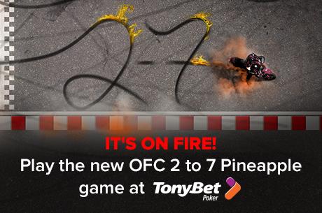 TonyBet Poker zavádí nový Open-face Chinese: Progressive Pineapple 101
