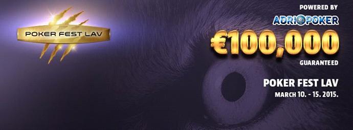 Poker Fest Lav U Toku - Sutra Live Reporting Main Eventa 101