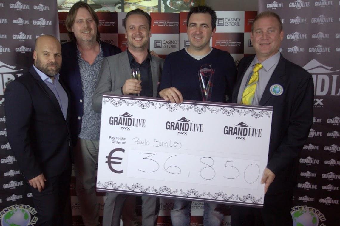 Paulo Santos Venceu The Grand Live Estoril (€32,625) 101