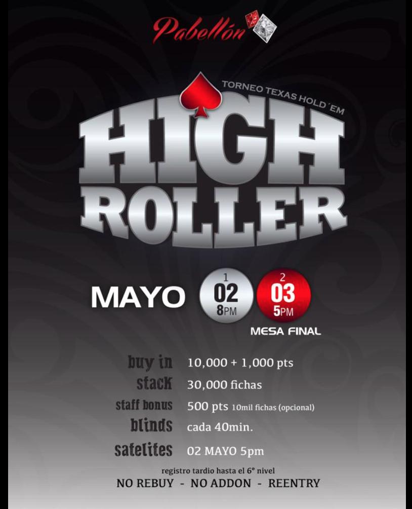 El Guadalajara Póker Series 2.0 anuncia su nueva fecha para torneo 102