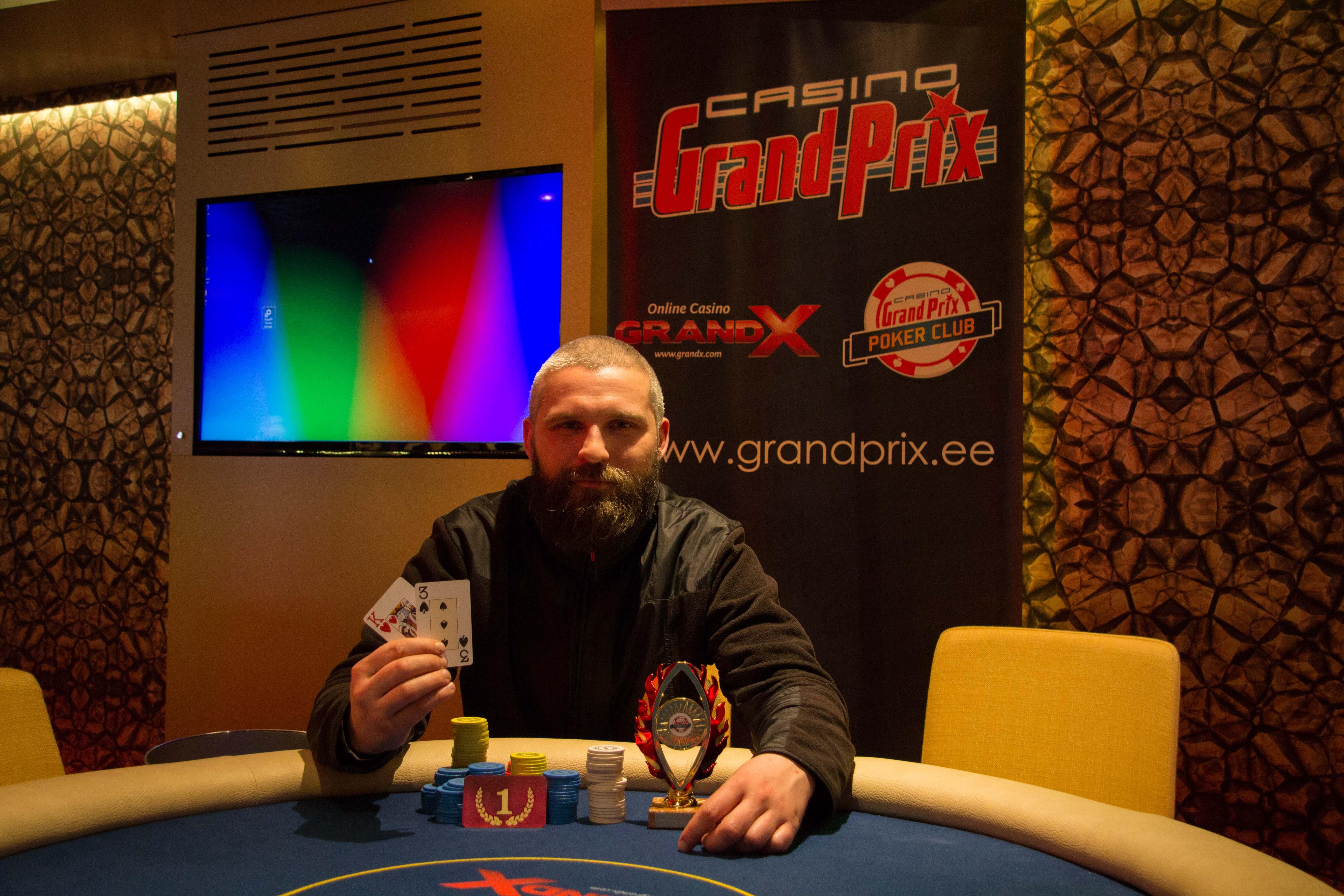 Grand Prix Sõpruse kasiinos peeti pidu, Pärnus toimus Pokernews Live 101