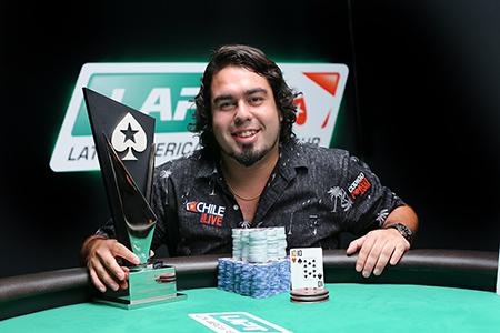 Oscar Alache Campeón en el LAPT8 Chile 101