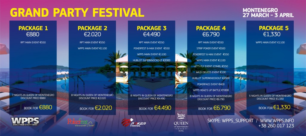 Grand Party Festival Montenegro  sa €700 000  GTD 27. Mart - 3. April 103