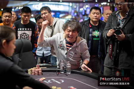 Yuguang Li Wins Red Dragon Main Event and Macau Poker Cup High Roller Within 24 Hours 101