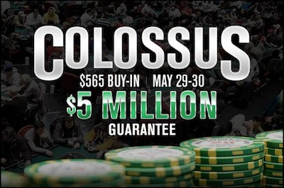 Considering the Colossus: Matt Stout On Strategy for the New 5 WSOP Event 101