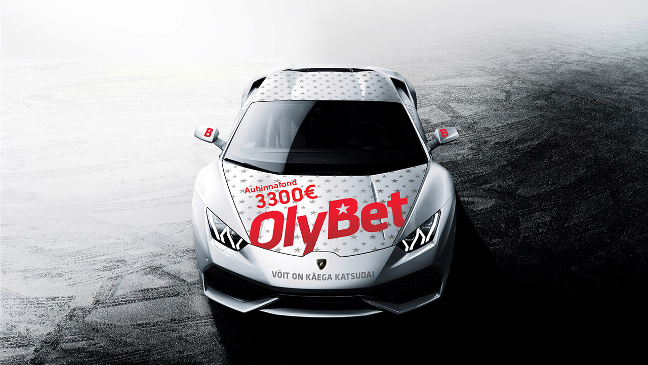 OlyBet saadab ühe pokkerimängija Lamborghiniga kihutama 101