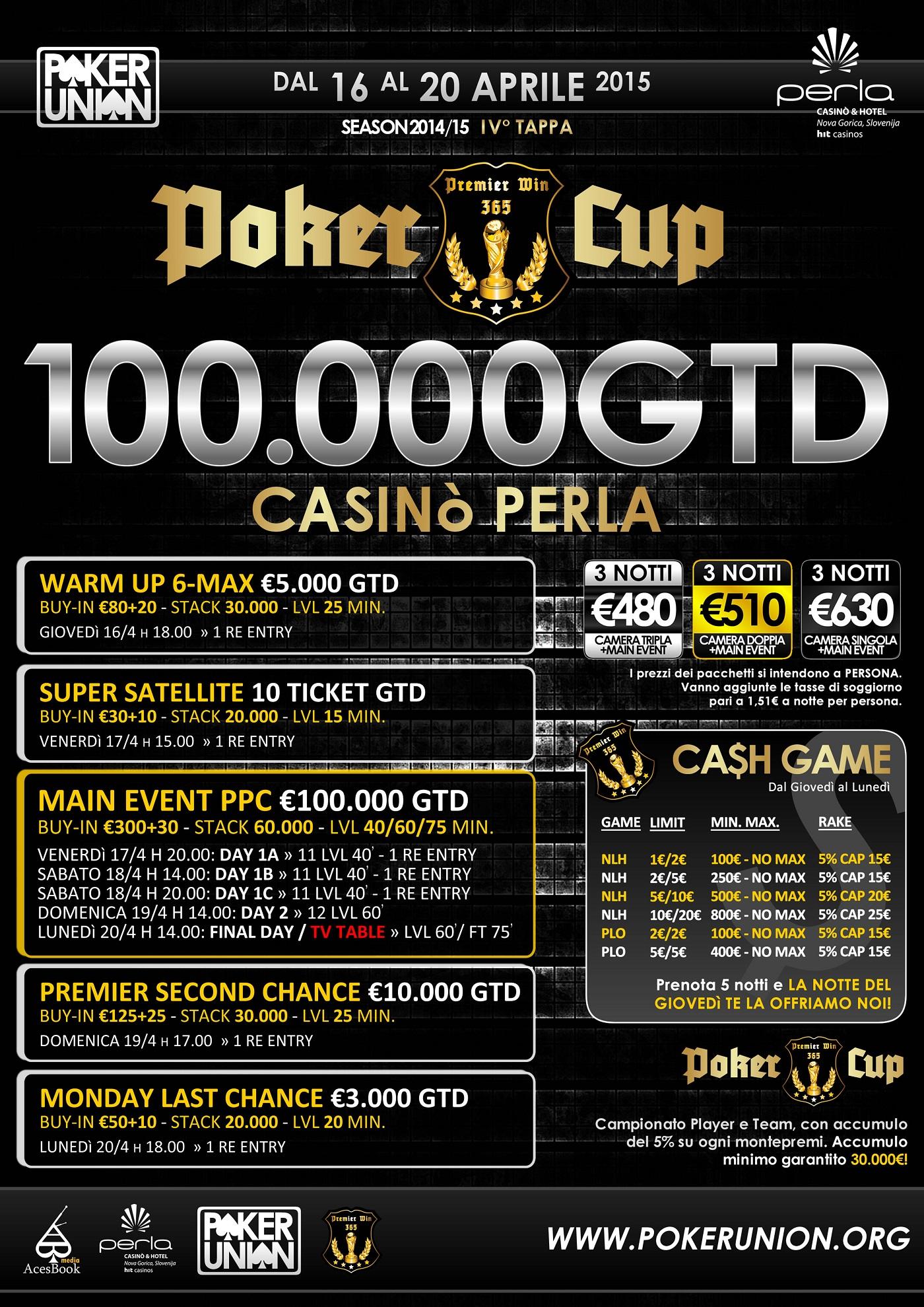 Premier Poker Cup 330€ sa 100.000€ GTD u Novoj Gorici od 16. do 20. Aprila 101