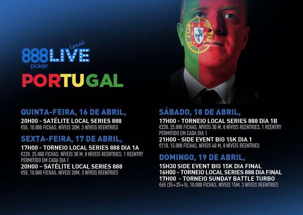 888poker Live Local Arranca hoje no Casino Estoril 101