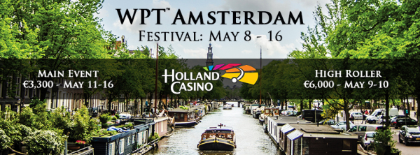 Nine-Day WPT Amsterdam Poker Festival to Take Place at Holland Casino from May 8-16 101
