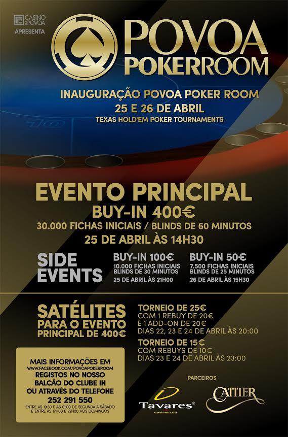 Póvoa Poker Room Abre Portas Este Fim de Semana 101