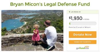 Bryan Micon Crowdfunding