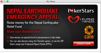 PokerStars for Nepal