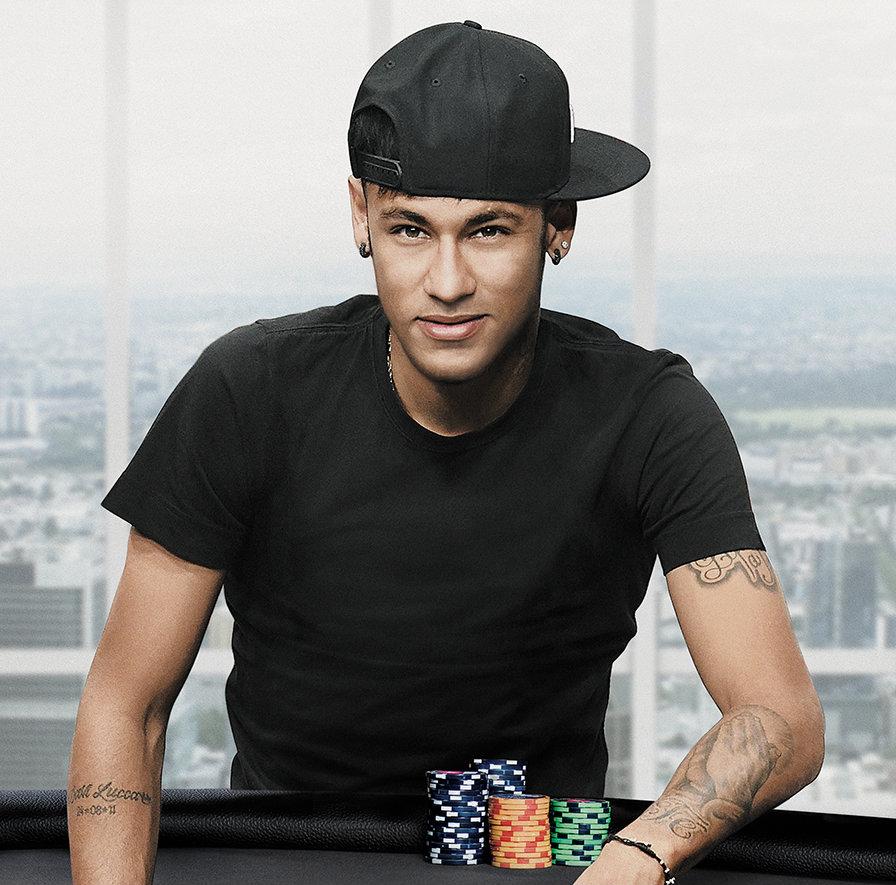 La estrella brasileña Neymar Jr. ficha por PokerStars 101