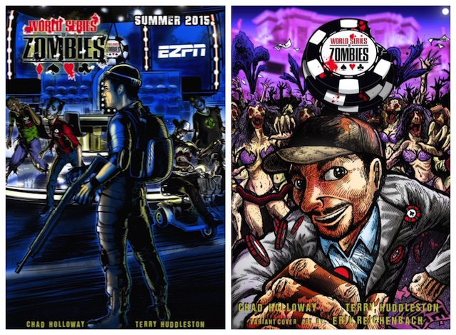 Chad Holloway's World Series of Zombies Comic Book to Premiere at 2015 WSOP 101