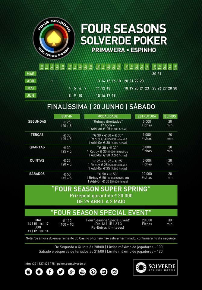 Four Season Special Event, 14 a 17 Maio no Casino de Espinho 101