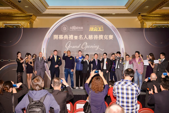 Phil Ivey, Johnny Chan, and Tom Dwan Attend Poker King Club Macau Grand Opening 104