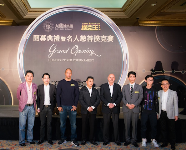 Phil Ivey, Johnny Chan, and Tom Dwan Attend Poker King Club Macau Grand Opening 105