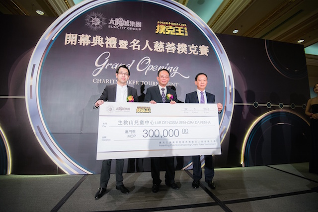 Phil Ivey, Johnny Chan, and Tom Dwan Attend Poker King Club Macau Grand Opening 106