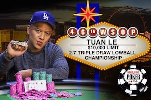 WSOP 2015 Día 7: Prasetyo lidera la mesa final del Colossus , Le consigue el Back-to-Back y... 101