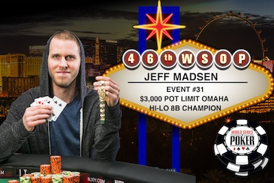 Pot-Limit Omaha Hi-Low (PLO8) Pointers from WSOP Event #31 Champion Jeff Madsen 101