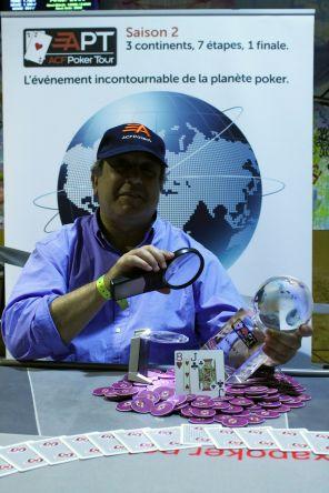 M. Leibgorin remporte l'ACFPoker Tour Gruissan - Photo : MSUSTRAC
