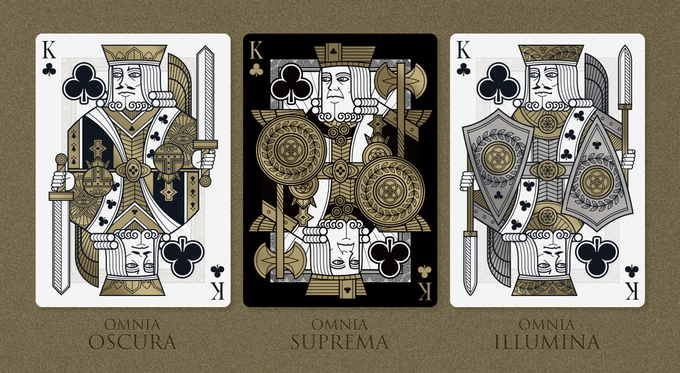 Omnia Playing Cards
