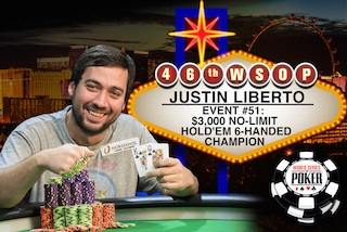 Justin Liberto Discusses Satellite Strategy After Shipping Main Event Seat 101
