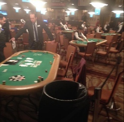 Heavy Rain Causes Leaky Roof at Rio; 23 Day 1b Main Event Tables Forced to Move 101