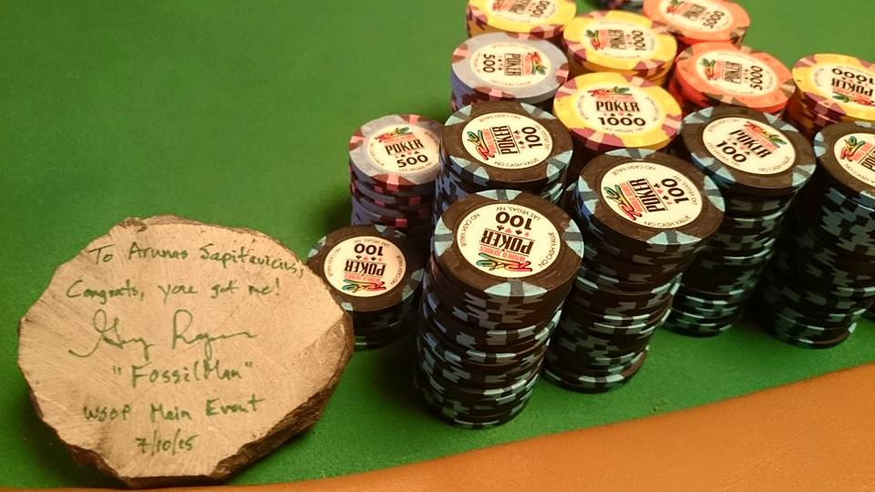 WSOP pagrindiniame turnyre - dar vienas galingas Arūno Sapitavičiaus pasirodymas! 101