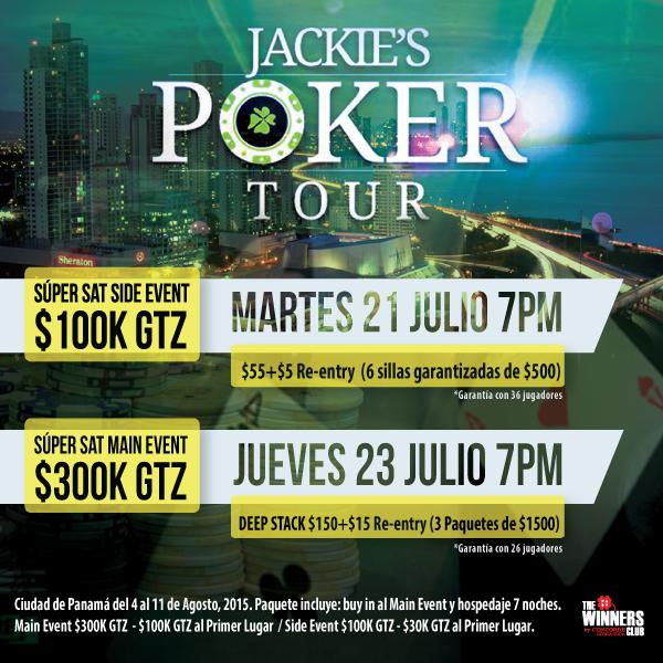 Satélites para el Jackie's Poker Tour III esta semana 101