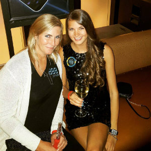 Sofia Lövgren and Jackie Glazier in Las Vegas