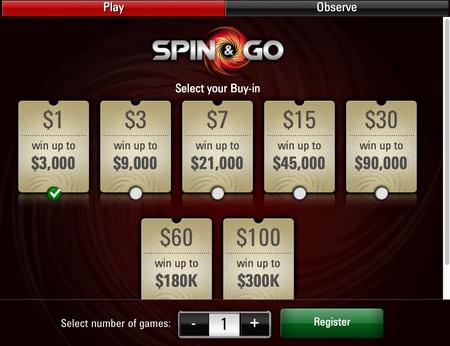 Geros naujienos Spin & Go turnyrų mėgėjams 101