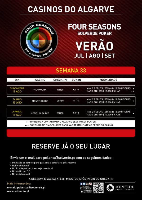 Poker no Algarve: Four Season Solverde Poker em Vilamoura, Montegordo e Portimão 101