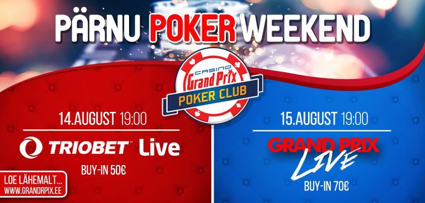 Sel nädalavahetusel toimub suve viimane Pärnu Poker Weekend 101
