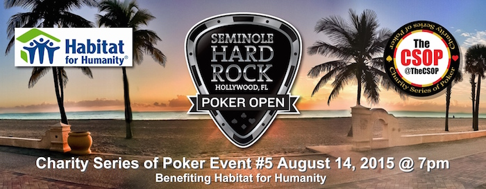 Celebrities Set to Partake in Friday's Charity Series of Poker Event at SHRPO 101