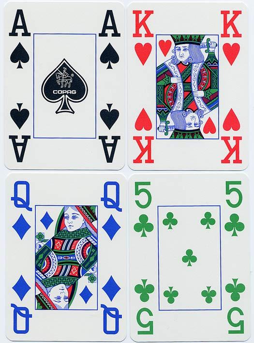 EPT Barselonos festivalyje - keturių spalvų kortų kaladės 101