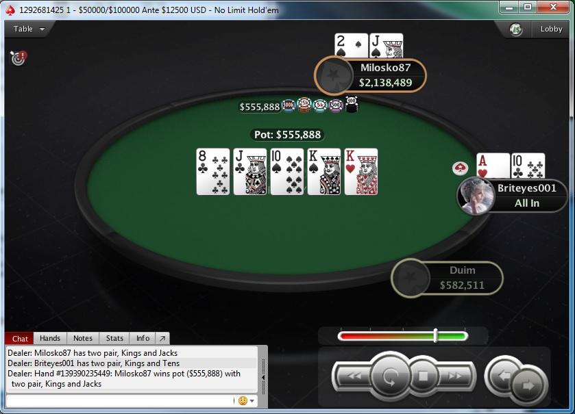 "Miloš ""Milosko87"" Babović Osvojio Hot 55$ 40K GTD na PokerStarsu; Milan ""qqruz"" Jevtić... 103"