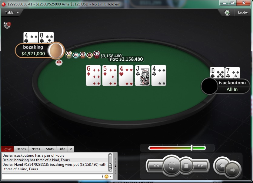 "PokerStars Sunday Edition: Stefan ""rokla569"" Klarić Obeležio Nedelju; Ostali Rezultati... 118"