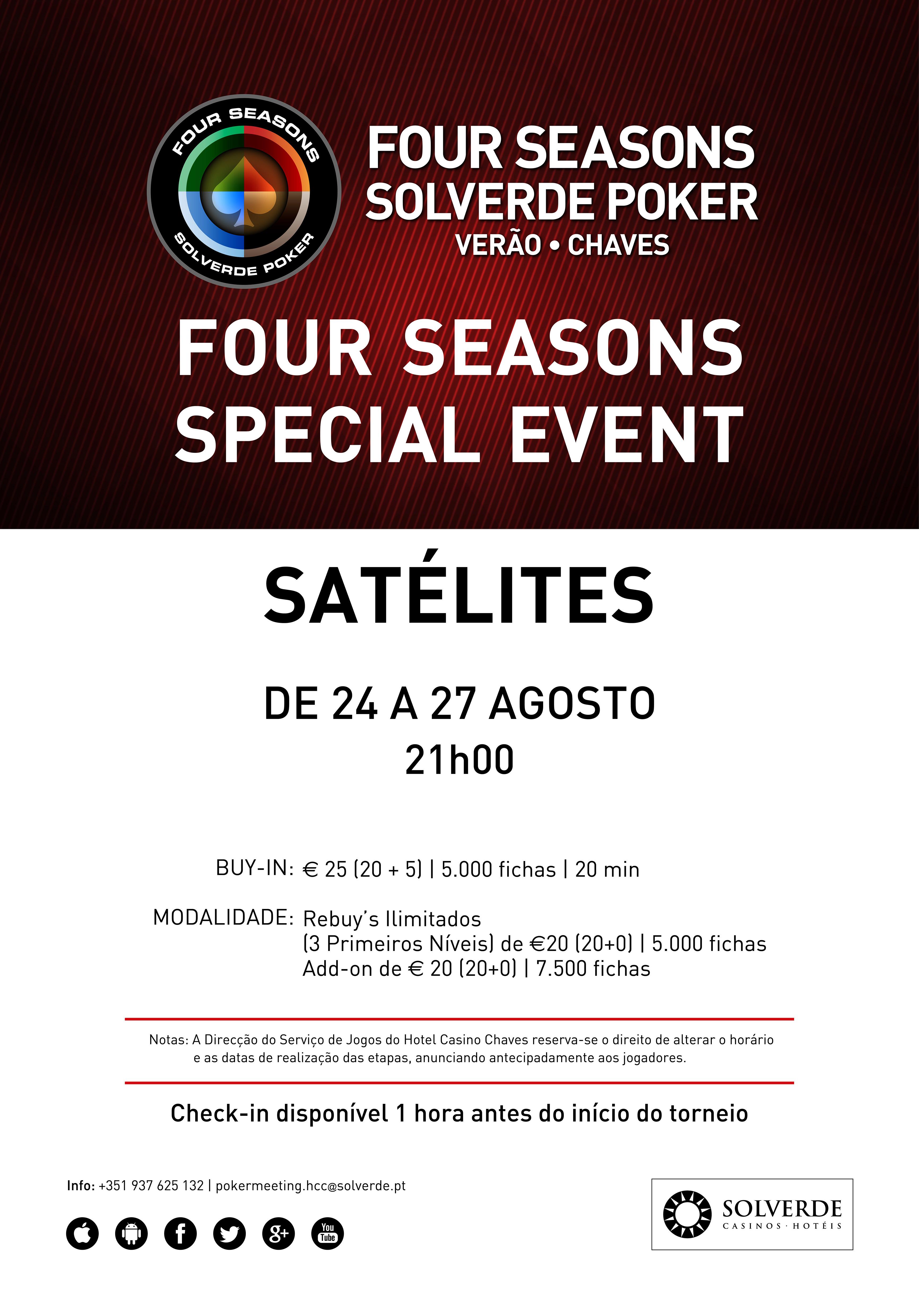 Satélites Four Seasons Special Event Chaves Arrancam Hoje (24 Agosto) 102