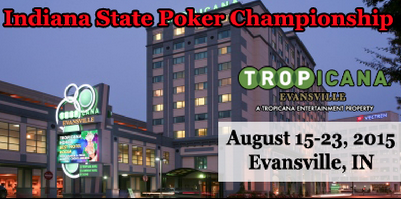 Don't Miss this Weekend's MSPT Tropicana Evansville ,100 Buy-in 0K GTD Main Event 101