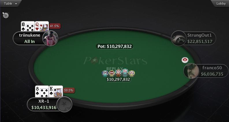 Eestlastel edukas nädalavahetus PokerStarsi suurturniiridel 101