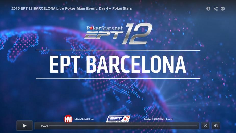 EPT Barcelona Main Event :  Khoroshenin Predvodi Finalnih 110; Bilić 690k, Mandić 497k 101