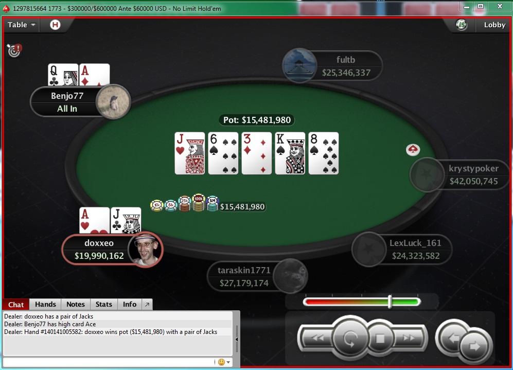 "Nedelja na PokerStarsu: ""doxxeo"" Chop-ovao Sunday Storm 102"