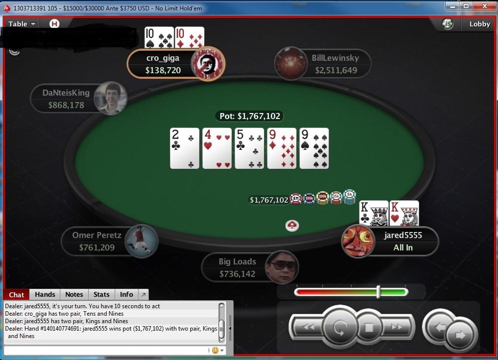 "Nedelja na PokerStarsu: ""doxxeo"" Chop-ovao Sunday Storm 107"