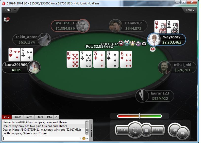 "Nedelja Na PokerStarsu: ""mario1335"" Prvi na Bigger ; ""waytoray"" Runner up na +R NLH 103"