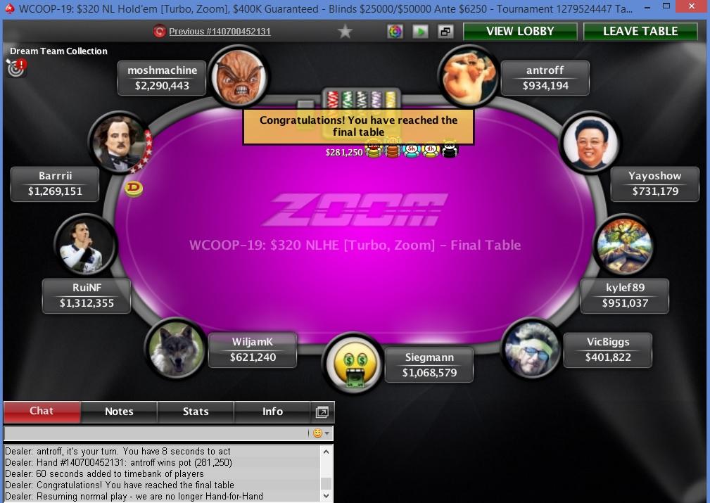 Kylef89 poker