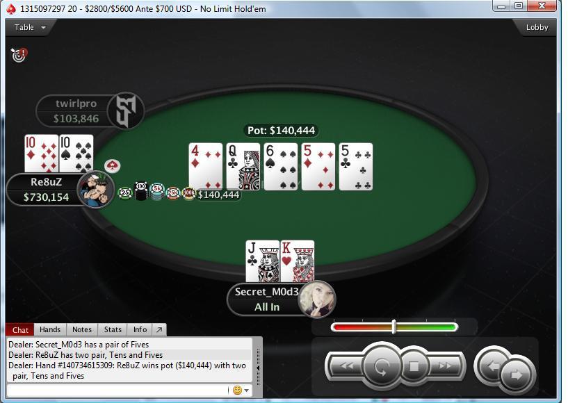 Dominacija Regionalnih Igrača na Turniru 265 $ NLH Knockout (PokerStars) 102